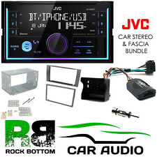 Ford Fiesta 2005-2008 JVC Bluetooth Mechless Car Stereo Anthracite Kit CTKFD47