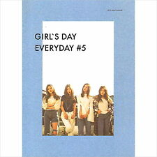 GIRL'S DAY - EVERYDAY #5 Everyday #5 (5th Mini Album)+photobook+photocard New