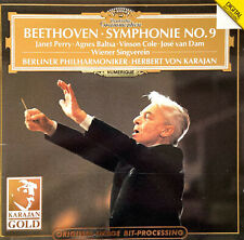Beethoven CD Herbert von Karajan – Symphonie No. 9 - Europe (M/M)
