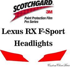 3M Scotchgard Paint Protection Film Kit Pro Series 2016 - 2019 Lexus RX F-Sport