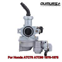 Carburetor Carb For Honda ATC70 ATC90 1976-1978 ATC125M 1984-1985 3 Wheeler ATV