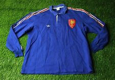 FRANCE NATIONAL TEAM 1988 VINTAGE RARE RUGBY SHIRT JERSEY MAGLIA ADIDAS ORIGINAL