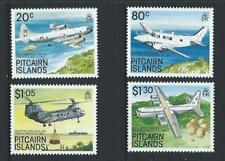 1989 PITCAIRN ISLANDS Aircraft Set (SG 348-351) MNH