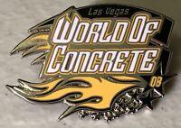 2008 Las Vegas World Of Concrete Construction Trade Show Lapel Hat Pin ~ Nevada