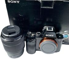 Sony Alpha A7 24.3MP Digital Camera Mirrorless + Lens 2870 + Battery + 64GB Card