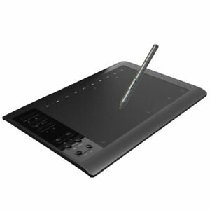 "10x6"" Digital Graphics Drawing Tablet PC Artist Board Pad Painting +Pen 2020 New"