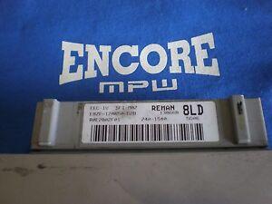 1988-1993 Mustang 5.0L Mass Air Computer 8LD ECU MAF ECM PCM Manual Stick CALI