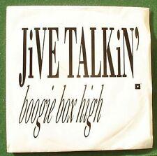 """Boogie Box High Jive Talkin' 7"""" Single"""