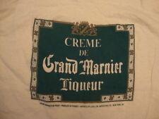 Vintage 80's Grand Marnier Cognac Liqueur liquor party T Shirt l / M