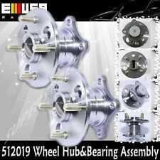2pcsREAR WHEEL HUB BEARING 93-95 Toyota Corolla Base Sedan 4D 1.6L 1587CC 512019