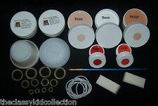 Doll Repair Kit w/ Paint, Dream Clean, Stringing Bands, Elastic, Repair Manuals