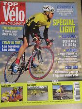 TOP VELO N°97: AVRIL 2005: SPECIAL LIGHT - SCOTT CR1 - ANDREA TAFI - ASAAC -