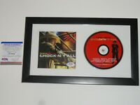 "TOBY KEITH SIGNED FRAMED ""SHOCK'N Y'ALL"" CD AUTOGRAPHED PSA COA"