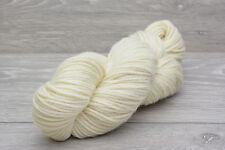 Aran Weight Bluefaced Leicester Undyed Wool Yarn 100gm hank (BFLHA0925S)