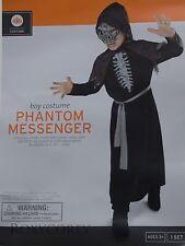 Halloween Boys Phantom Messenger Costume Size Large 10-12 53-58 in Chest NWT