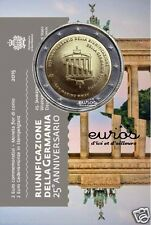 Pièce commémorative 2 euros SAINT MARIN 2015 BU - Réunification Allemande - BU