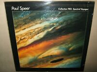 PAUL SPEER Collection 983 Spectral Voyages MINTY ORIGINAL SEALED Vinyl LP CAT005