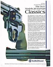 SMITH & WESSON  REVOLVER Classic 44 Magnum  New Models 29 and 629  1992 AD