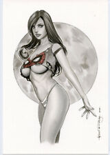 SEXY MARY JANE SK#790  SPIDERMAN ORIGINAL PINUP GIRL ART by ALEX MIRANDA