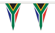 South Africa New Triangle Flag Bunting 20m Party Decoration African
