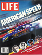LIFE AMERICAN SPEED ~ FROM DIRT TRACKS TO INDY TO NASCAR (BY TIME INC.) ANDRETTI