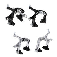 Road Bike Brake Caliper Set Reach Front /Rear Brakes Side Pull Brake Part