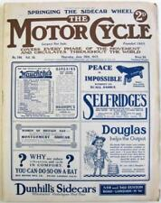 1st Edition Motorcycles Motor Cycle Magazines