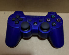 Blue Sony Playstation PS3 Sixaxis DualShock 3 Controller - OEM TESTED CECHZC2U