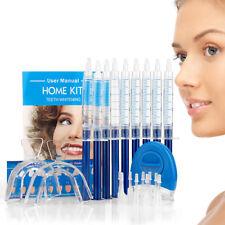 Strong 34% Teeth Whitening Kit Home Tooth Whitener Bleach LED Laser Blue Light