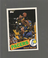 REGGIE MILLER Topps First ROOKIE card! INDIANA PACERS  Rc MINT CONDITION