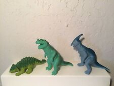 3 Playskool Definitely Dinosaurs Wendys Happy Meal toys 1988