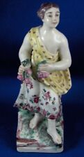 Rare 18thC Mennecy Soft Paste Porcelain Lady Figurine Figure French France