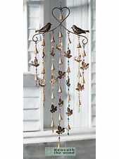 Birds & Foglie Windchime con perline colorate campane & - Wind Chimes