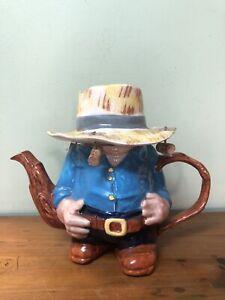 Vintage Price Kensington England Novelty Swagman Swaggy Teapot Ex Condition