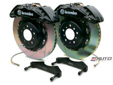 Brembo Front GT Brake BBK 6pot Black 380x34 Slot Escalade Chevy GMC 1500 07-14