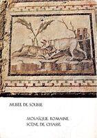 BG21133 musee de sousse mosaique romaine scene de chasse art postcard tunisia