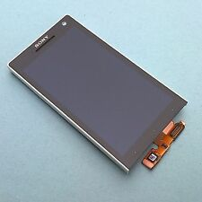 100% ORIGINALE SONY XPERIA S LT26i FRONT + Digitizer Touch Screen + LCD Display + Cornice