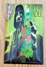 Brand New Darth Vader Mountain Dew Handmade Custom Light Switch Wall Plate Cover
