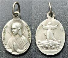 Médaille religieuse «Ste Bernadette Soubirous P.P N»
