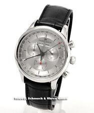 Maurice Lacroix Quarz-(Batterie) Armbanduhren aus echtem Leder für Herren