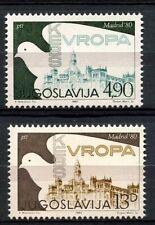 Jugoslavia 1980 SG # 1954-5 Co-op Conferenza MNH Set #A 32989