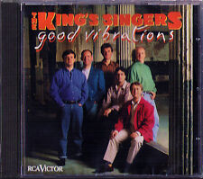 THE KING'S SINGERS: GOOD VIBRATIONS Freddie Mercury American Pie Cecilia RCA CD