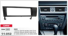 CARAV 11-052 1Din Marco Adaptador Kit Instalacion Radio BMW 1- 3-SERIES, X1, Z4