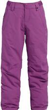 Burton Elite Girls Insulated Ski Snowboard Cargo Purple Pants XL NEW X-Large
