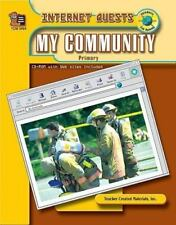 Internet Quests - My Community  Paperback primary grades 1-3 social studies