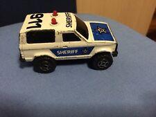 Fuoristrada Sceriffo Scheriff 911 Majorette Sonic Flasher Funzionante Con Sirena