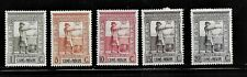 HICK GIRL- MH. PORTUGAL-ST. THOMAS & PRINCE STAMPS   SC#302-6   1938    H1049