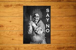 Say No Sticker Packs (10-100)  Anti Vax Vaccine Death Clown Needle Conspiracy