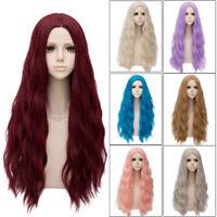 78CM Lolita Fluffy Heat Resistant Long Curly Halloween Fashion Wig+Cap Cosplay
