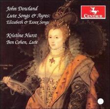 John Dowland: Lute Songs & Ayres - Elizabeth & Essex Songs, New Music